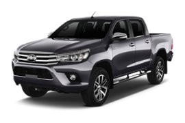 TOYOTA HILUX HARDTOP 4X4 INCL. NAVIGATION